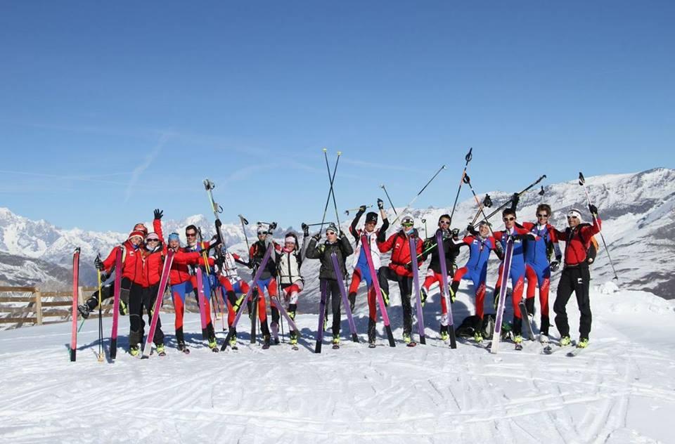 L'équipe de France de ski alpinisme