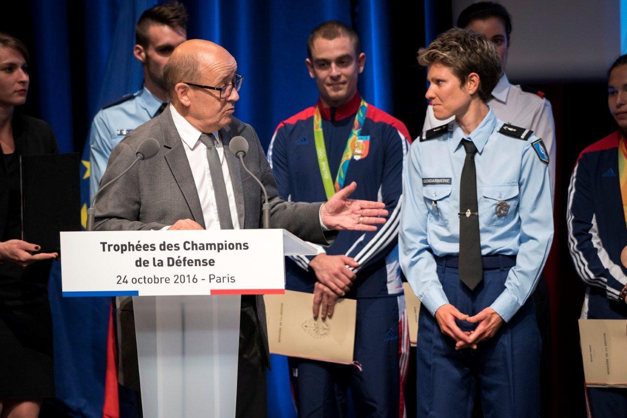 Laetitia Roux - Trophée des Champions de la Défense
